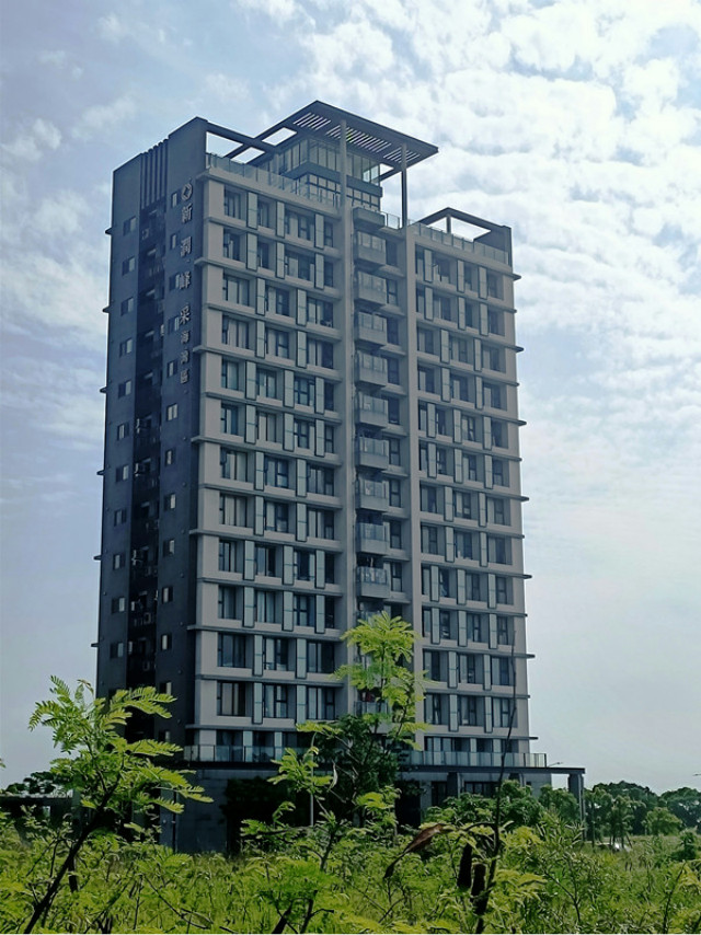 新潤峰采景觀樓,新北市淡水區崁頂五路