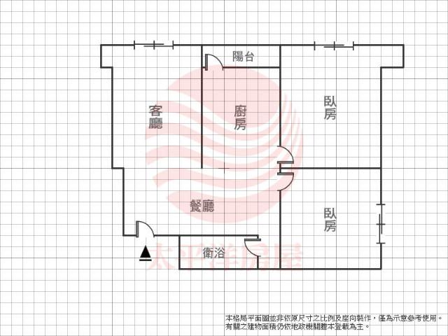 天星花園2房,台北市士林區環河北路三段
